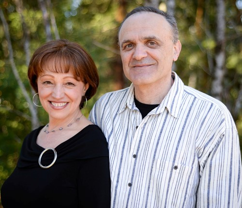 photo of David and Inna Gurevich